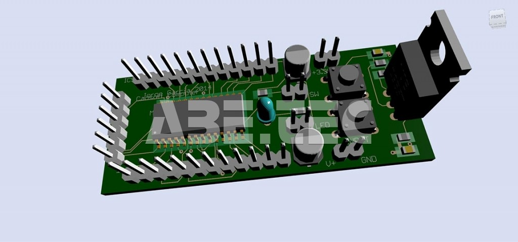 Autodesk EAGLE PCB design software free download | ABE.TEC, s.r.o.